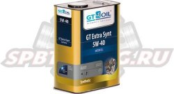 GT-OIL Масло моторное GT Extra Synt 5W-40 4л