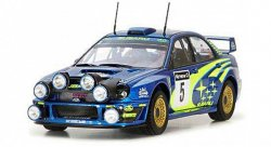 Сборная модель Tamiya Subaru Impreza WRC 2001 Rally of Great Britain 1:24
